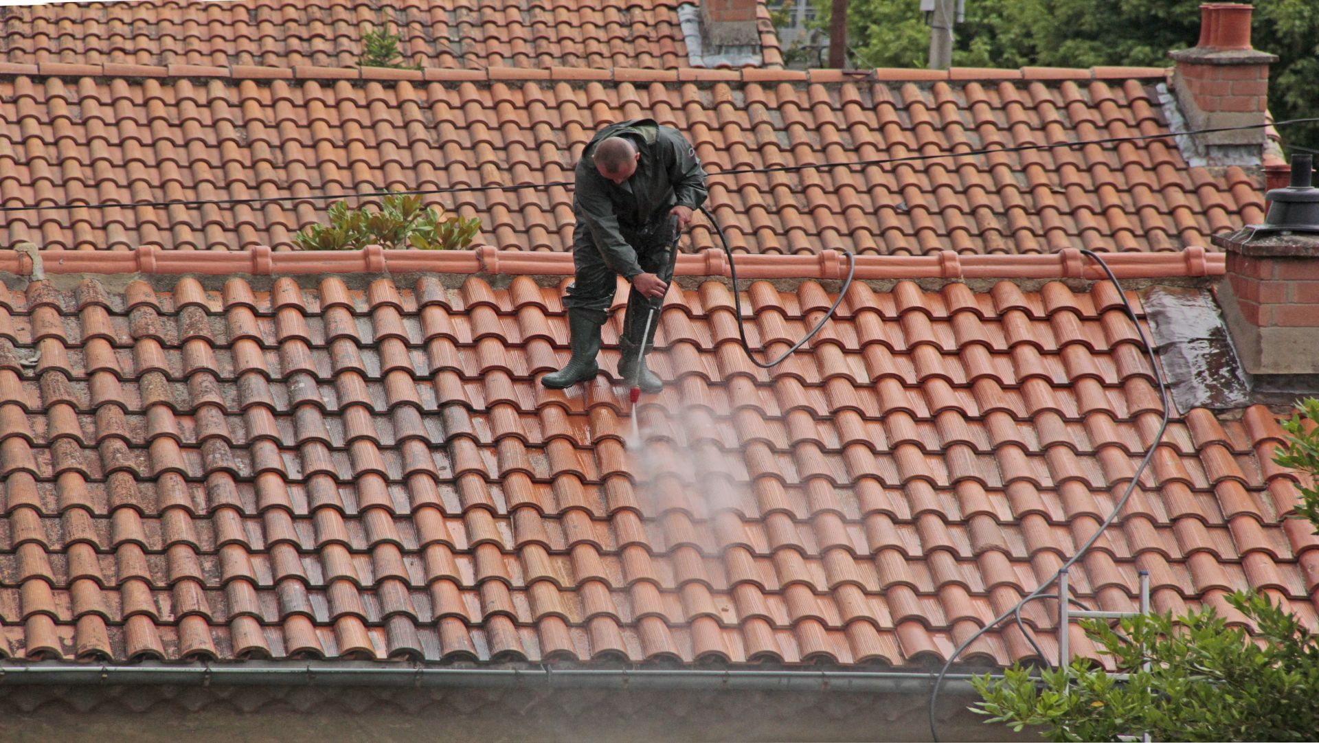 Roof Cleaning Mansfield, Nottinghamshire