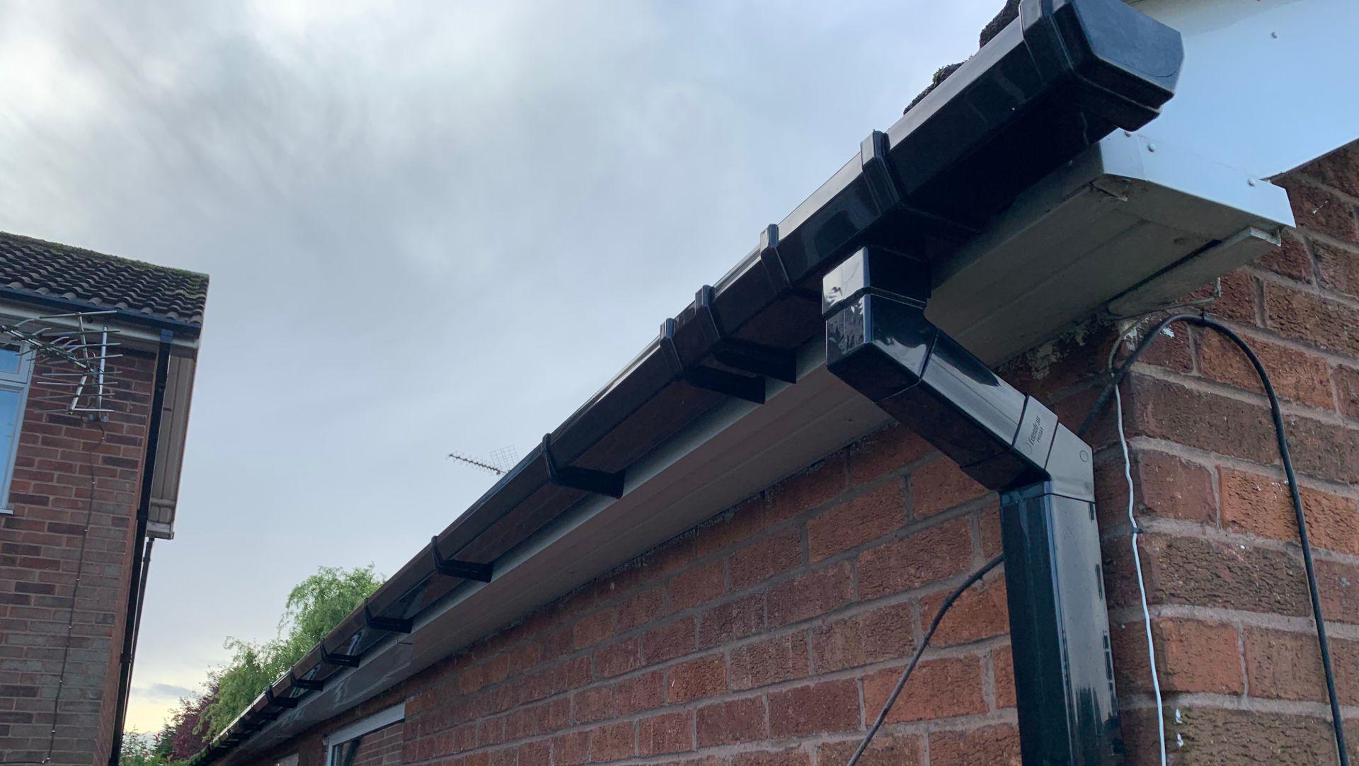 gutter repair company Mansfield