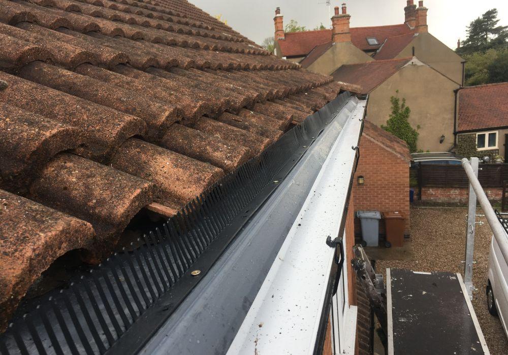gutter repair in mansfield