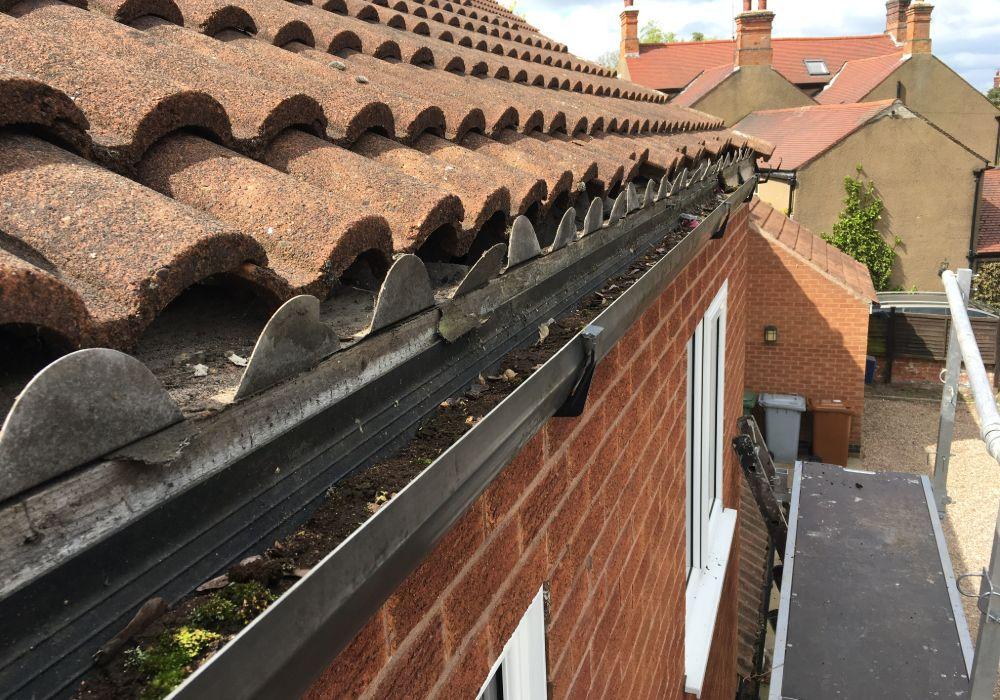 gutter repair mansfield