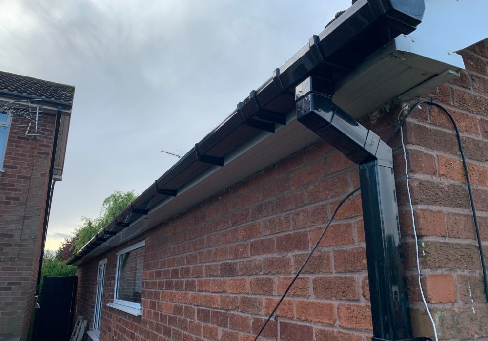 gutter replacement in mansfield