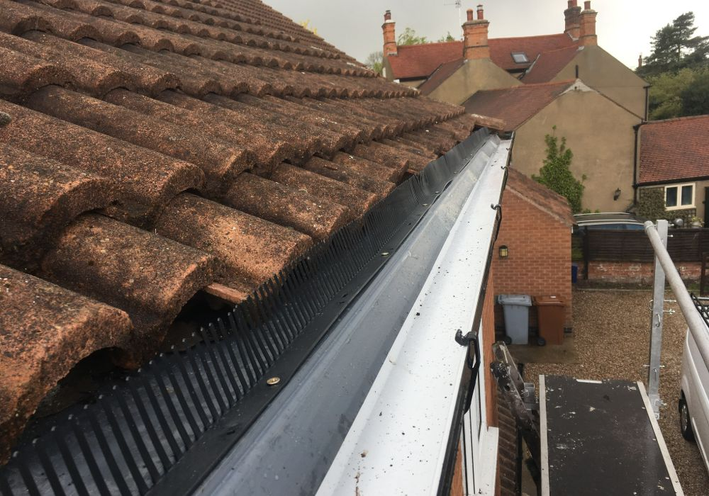 guttering replacement in mansfield