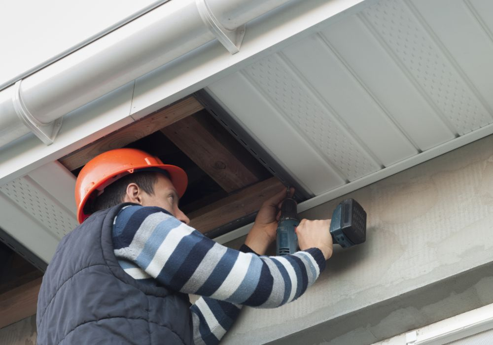 soffit and fascia installation company - Ashbourne